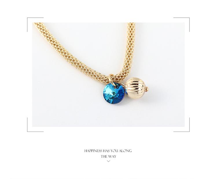 奥地利水晶手链--小灯笼(彩白)
