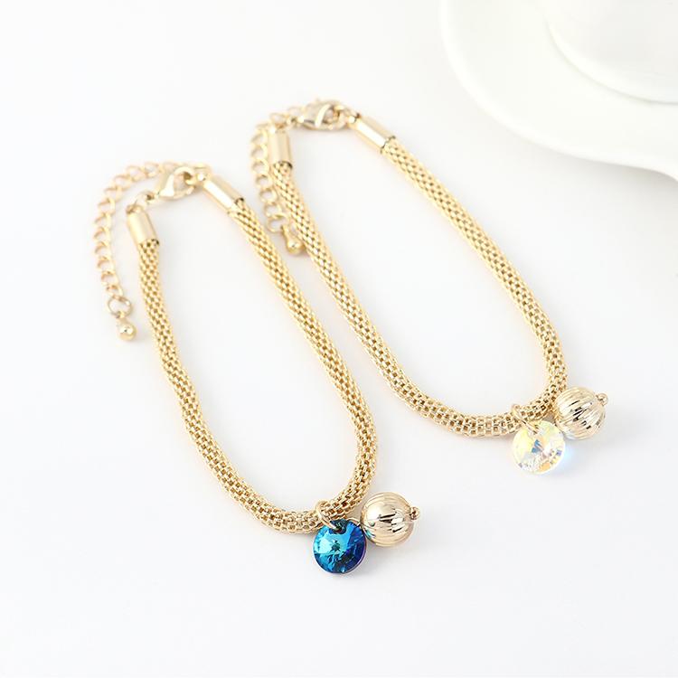 奥地利水晶手链--小灯笼(蓝光)
