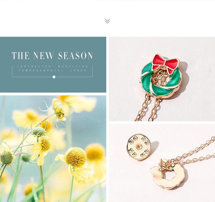 圣诞系列百搭创意个性圣诞雪人胸针