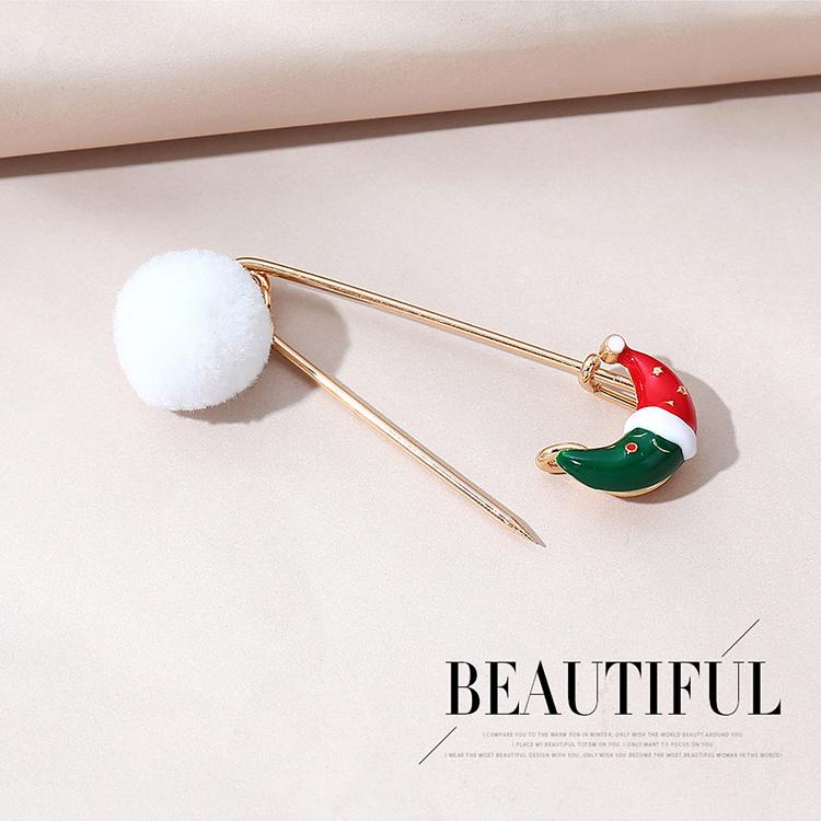 圣诞系列流行爆款时尚创意个性圣诞树胸针套装