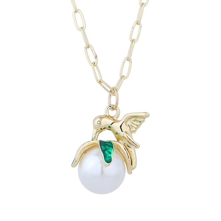 韩版复古创意百搭流行时尚气质珍珠项链