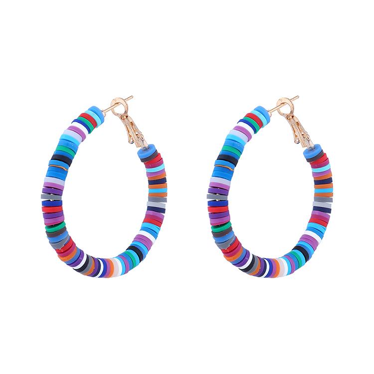 欧美创意个性时尚百搭民族风镂空耳环