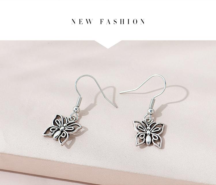 欧美小清新百搭时尚甜美可爱耳环套装