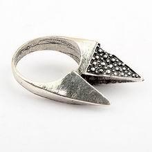韩版复古个性塔戒指