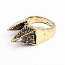 韩版时尚个性兔子耳朵复古戒指
