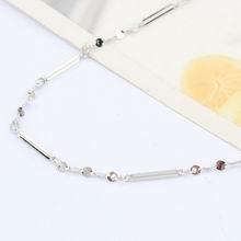 特价纯银16寸十字间满天星项链配链