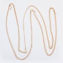 欧美特色时尚珍珠身体链