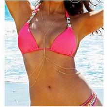 欧美沙滩流行配带个性身体链