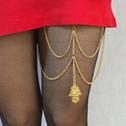 欧美时尚流苏个性身体链