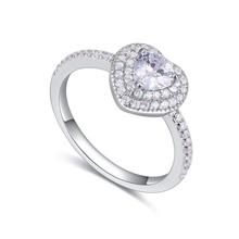 S925纯银戒指--梦瑶之恋