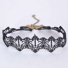欧美复古哥特蕾丝颈链--75【3363】】