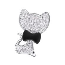 奥地利水晶胸针--领结猫咪