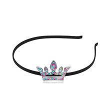 奥地利水晶头饰--皇冠(彩色)