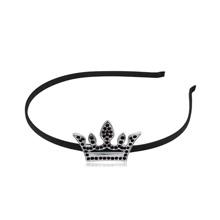 奥地利水晶头饰--皇冠(黑色)