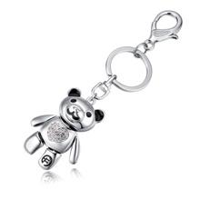 钥匙扣--爱心熊