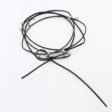 欧美复古哥特蕾丝颈链--111