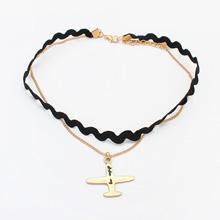 欧美复古哥特蕾丝颈链--118