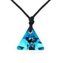 奥地利水晶项链--念念不舍(蓝光)
