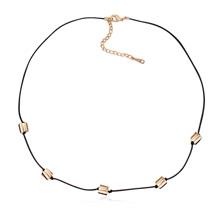 奥地利水晶项链--小步舞曲(金色魅影)