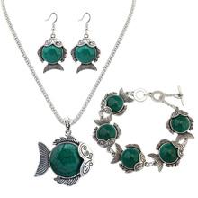 欧美时尚金鱼套装(绿色)
