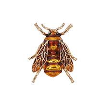 欧美时尚百搭可爱小蜜蜂(黄色)