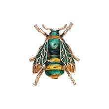 欧美时尚百搭可爱小蜜蜂(绿色)