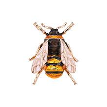 欧美时尚百搭可爱小蜜蜂(白色)