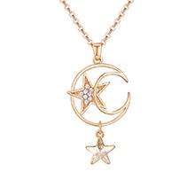 水晶项链--星空梦想(金色魅影)