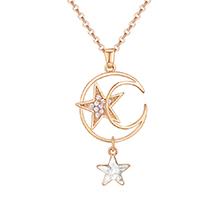 水晶项链--星空梦想(白色)