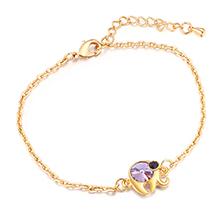 水晶手链--魔力小象A款(紫罗兰)