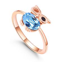水晶戒指--魔法飞行者(海蓝)