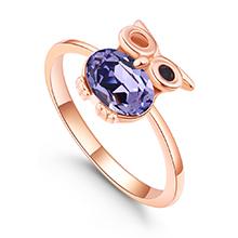 水晶戒指--魔法飞行者(藕荷紫)