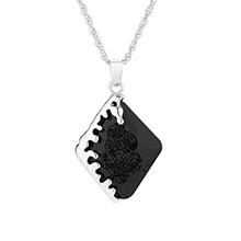 奥地利水晶项链--流年(黑色)