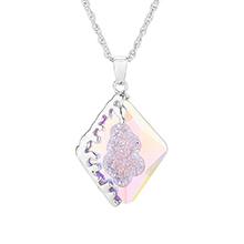 奥地利水晶项链--流年(彩白)
