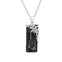 奥地利水晶项链--似水年华(银色魅影)