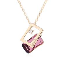 奥地利水晶项链--思念(古典粉红)