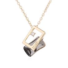 奥地利水晶项链--思念(黑钻石)