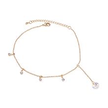 水晶手链--光芒闪耀(14K金+彩白)