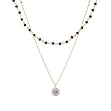 AAA级锆石项链--眼眸(14K金)