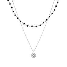 AAA级锆石项链--眼眸(白金)