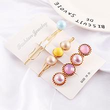 韩版复古时尚珍珠发夹