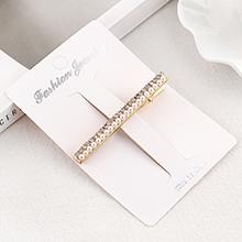 韩版复古水钻小珍珠发夹