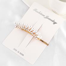 韩版复古气质珍珠发夹