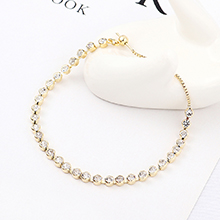 进口水晶手链--星河(14K金)