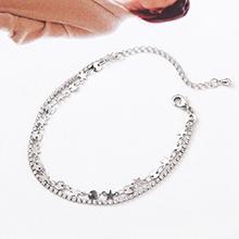 精品水晶手链--星空轨迹(白金)