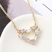 AAA级锆石项链--画心(14K金)