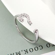 AAA级锆石戒指--诠释符号(白金)