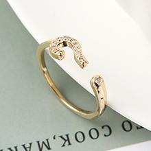 AAA级锆石戒指--诠释符号(14K金)