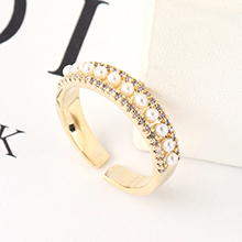 AAA级锆石戒指--琳琅满目(14K金)