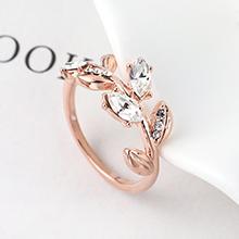 奥地利水晶戒指--金枝玉叶